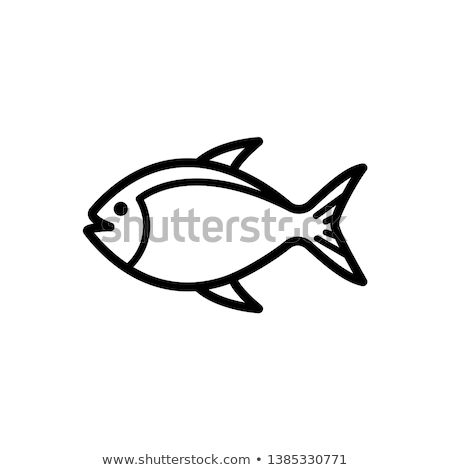 A simple image of a fish Stock photo © tatiana3337