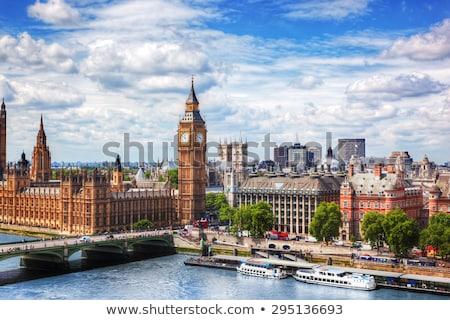 huizen · parlement · Londen · groot-brittannië · stad · rivier - stockfoto © photocreo