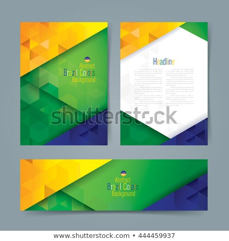Rio 2016 Concept Banners in Flat Style Design. Stock photo © robuart