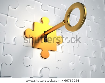 Opened safe with golden piece. stock photo © pakete