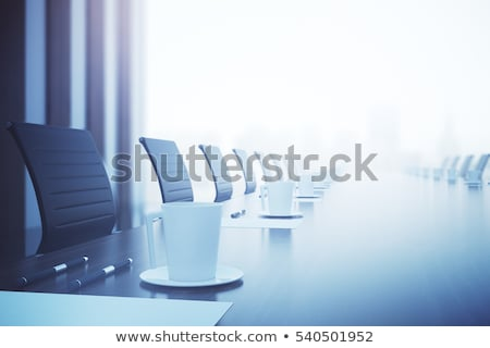 Cup of coffee on table in the conference room Stock photo © zurijeta