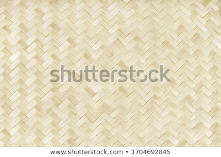 light brown rattan weave pattern stock photo © bank215