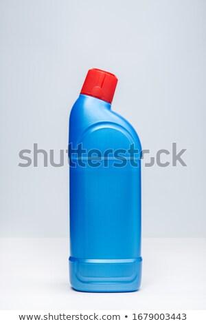 туалет чистого желтый пластиковых бутылку фон Сток-фото © coprid