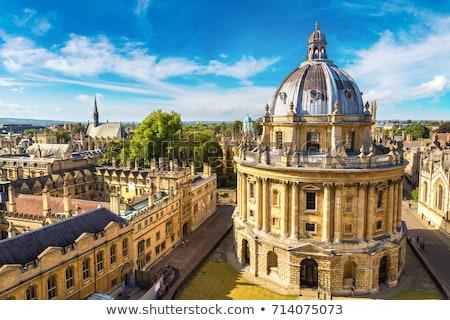 Câmera oxford ver magnífico arquitetura edifício Foto stock © chrisdorney