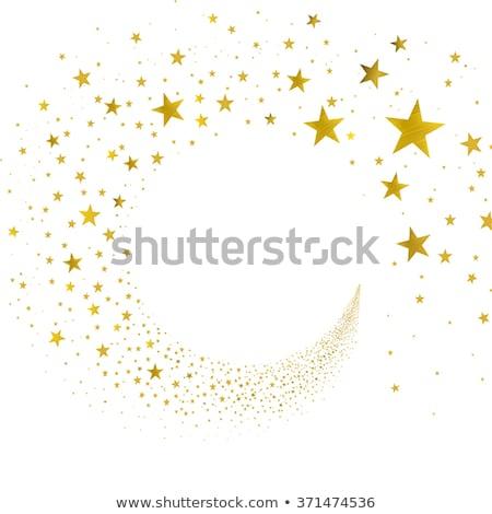 Magia ouro estrela espaço projeto Foto stock © blackmoon979