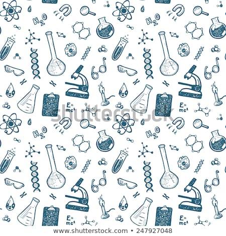 hand drawn chemistry stock photo © m_pavlov