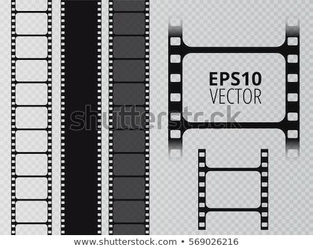realistic film strip background Stock photo © SArts