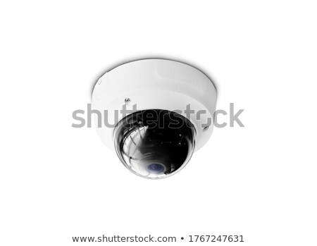 wireless surveillance camera on the wall of the building stock photo © smuki