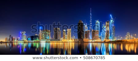 Downtown Dubai panoramic view Stock photo © photosebia