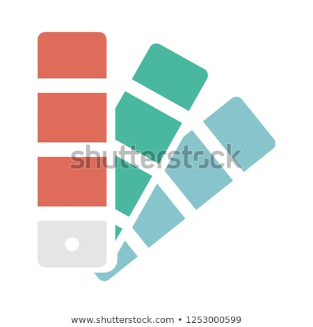 Color palette isolated on white background, color vector samples Stock photo © kurkalukas