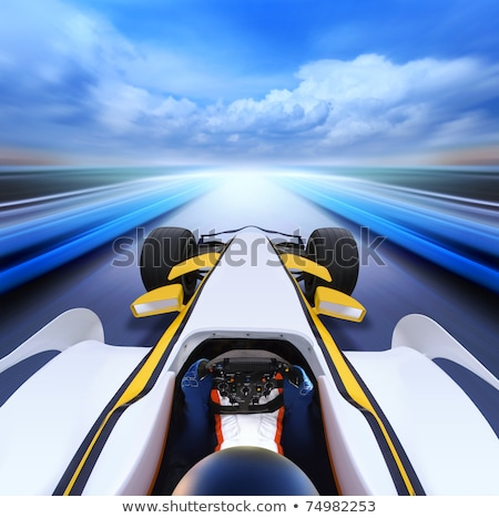 bolide on high speed road stock photo © ssuaphoto