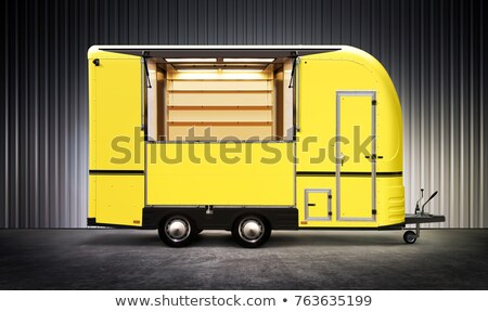 yelow food truck stock photo © ssuaphoto