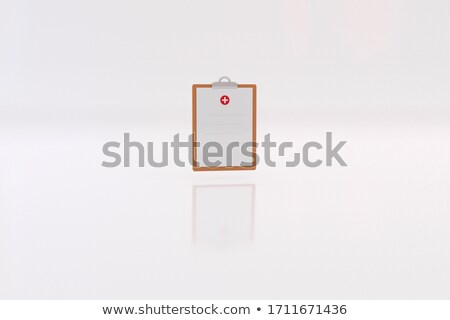 card file   healthcare 3d stock photo © tashatuvango