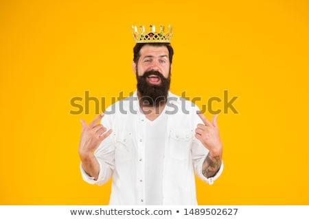 Kral karmaşık gölge beton Stok fotoğraf © psychoshadow