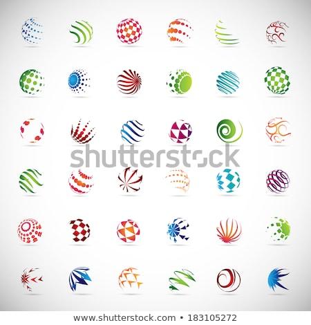 target point abstract business logo Stock photo © blaskorizov
