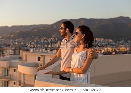 Enjoy the city view Stock photo © iko