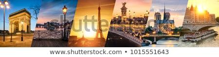 パリ · フランス · 旅行 · 正義 · 川 · 刑務所 - ストックフォト © boggy