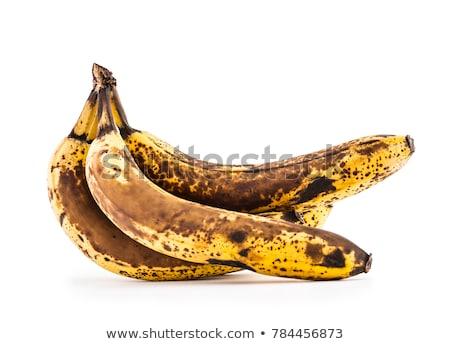 Rot bananen bos zwarte voedsel Stockfoto © THP