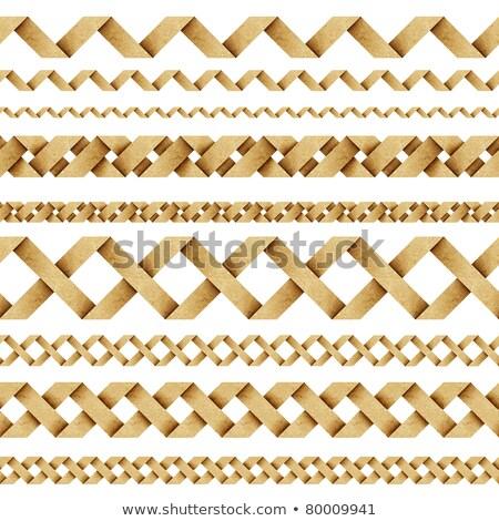 Rosolare carta zig-zag pattern abstract sfondo Foto d'archivio © Zerbor