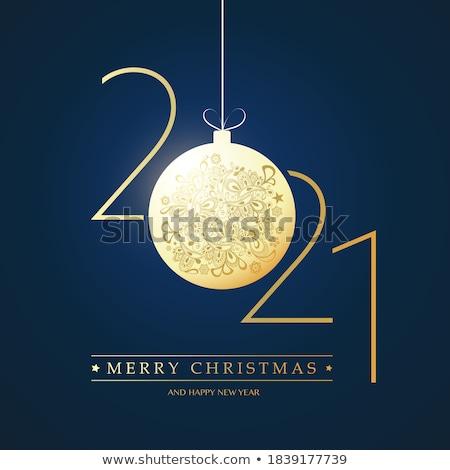Szczęśliwy wakacje najlepszy życzenia wesoły jasne Zdjęcia stock © robuart