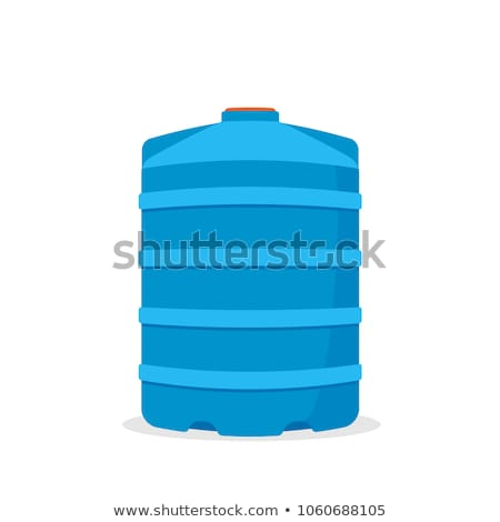 vector of water storage tank Stok fotoğraf © olllikeballoon