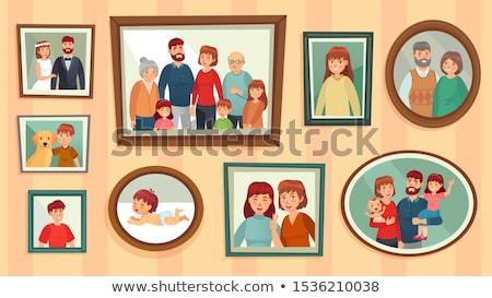 Resimleri çocuklar farklı faaliyetler beyaz arka plan Stok fotoğraf © colematt