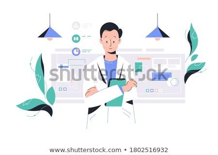 Investigating plant sample Stock photo © pressmaster