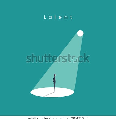 Concept of uniqueness and talent. Stock photo © olivier_le_moal