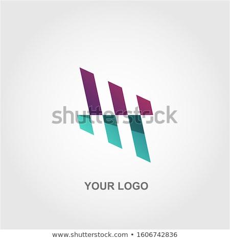 カラフル 抽象的な 無限 エンドレス シンボル アイコン ストックフォト © marish