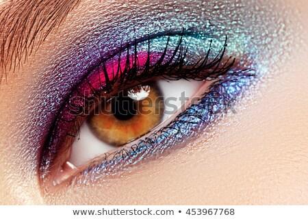 красоту · косметики · магия · глазах · посмотреть · ярко - Сток-фото © serdechny