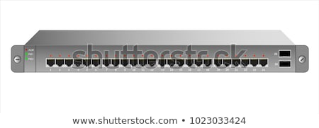 Stock photo: Rack Mounted Equipment