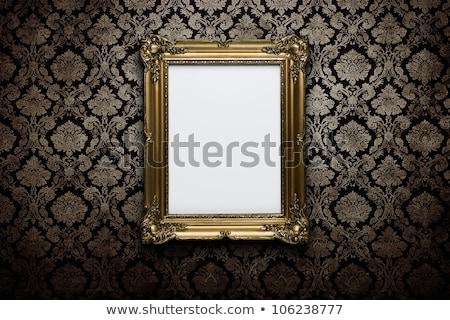 floreale · grunge · frame · vecchia · pergamena · vecchia · carta · pattern - foto d'archivio © paha_l