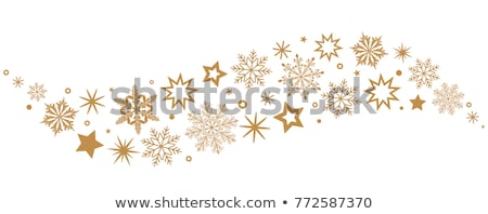 Snowflakes and stars Stock photo © kjpargeter