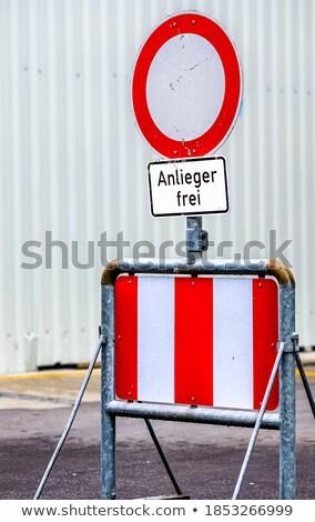 felirat · feketefehér · olvas · parkolás · információ · fehér - stock fotó © chrisbradshaw