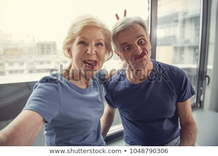 Couple making funny faces Stock photo © photography33