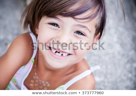 big smile with a tooth missing stock photo © photography33