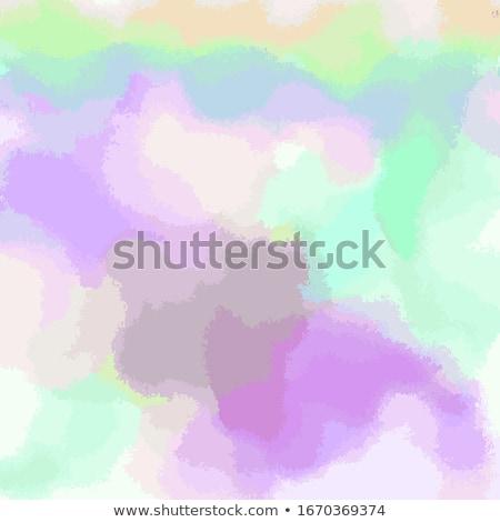 yeşil · renkli · hatları · düzenlenebilir · soyut - stok fotoğraf © beholdereye