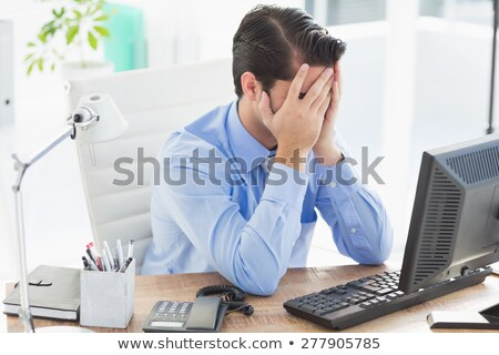 Exasperated businessman Stock photo © photography33