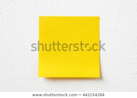 Think Outside The Box Sticky Note Stock photo © ivelin