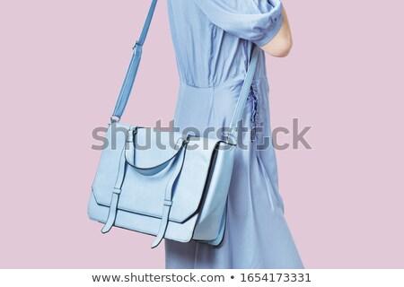 Mulher atraente bolsa atraente senhora sensual Foto stock © majdansky