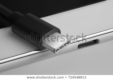 Part of cable USB stock photo © mikhail_ulyannik