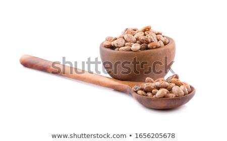 Kidney Beans with Wooden Spoon for Backgrounds Stock photo © ozgur