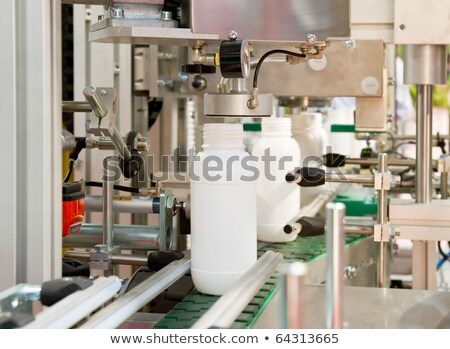 Mass production of plastic containers Stock photo © pixpack