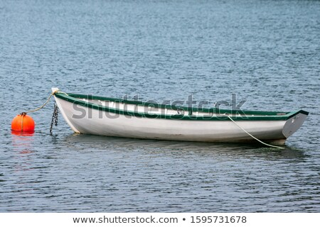 small wooden rowing boat floating stock photo © mps197