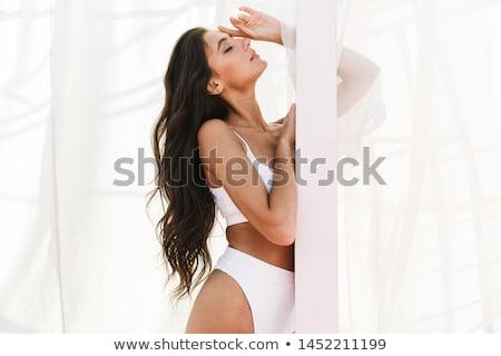 Alluring young caucasian woman Stock photo © acidgrey