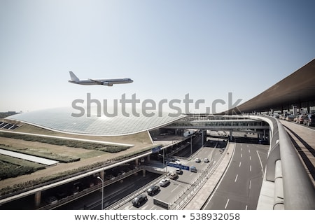 Сток-фото: аэропорту · Пекин · выстрел · 2008 · женщину