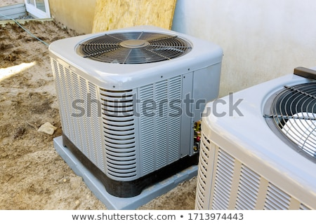 Nouvelle climatiseur lumière technologie métal urbaine Photo stock © shutswis