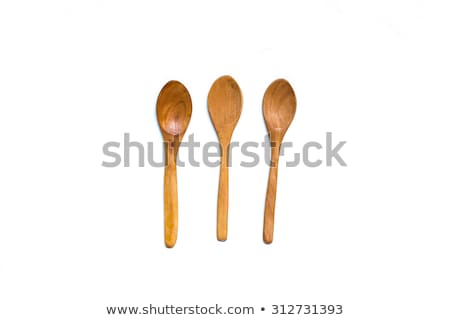 Tres cucharas aislado blanco Foto stock © Digifoodstock