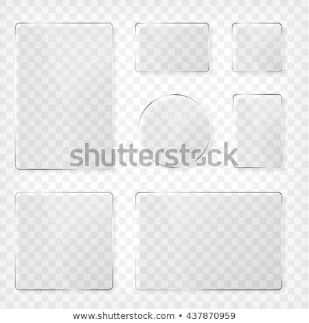 одноразовый · пластин · набор · иллюстрация · белый · оранжевый - Сток-фото © pakete