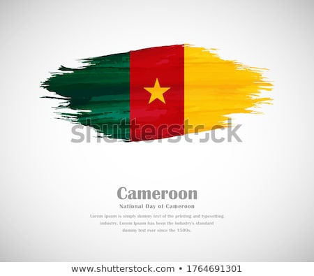 Камерун · стране · карта · Африка · белый - Сток-фото © carenas1